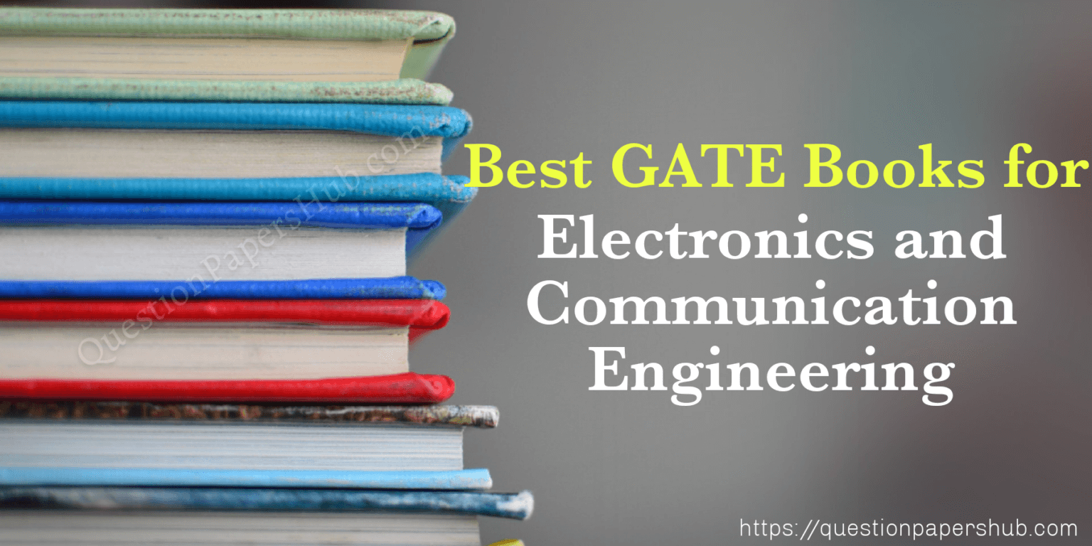 Best Books for GATE ECE 2021