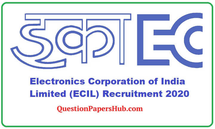 ECIL Job Recruitment 2020