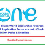 One Young World Schoalrship