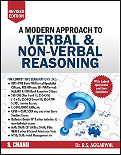 A Modern Approach To Verbal And Non-Verbal Reasoning, R.S. Aggarwal