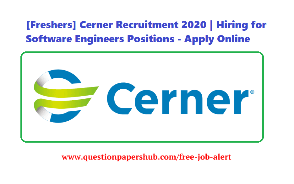 Cerner Recruitment 2020
