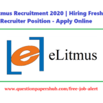 eLitmus Recruitment 2020