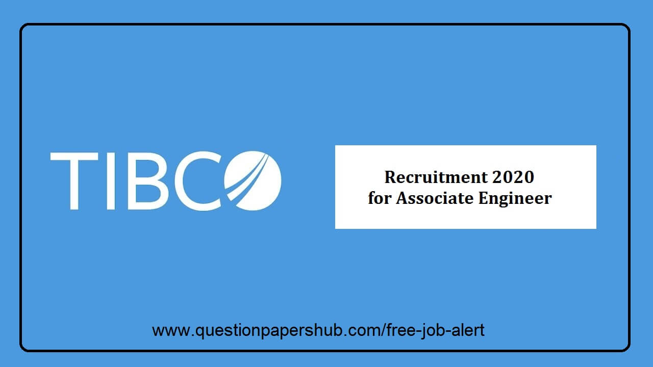 TIBCO recruitment 2020