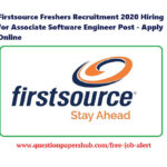 Firstsource Recruitment 2020