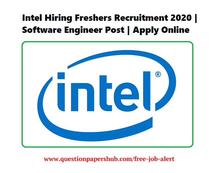 Intel Recruitment 2020