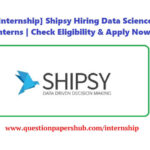 Shipsy Data Science Internship