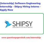 Shipsy Software Engineering Internship