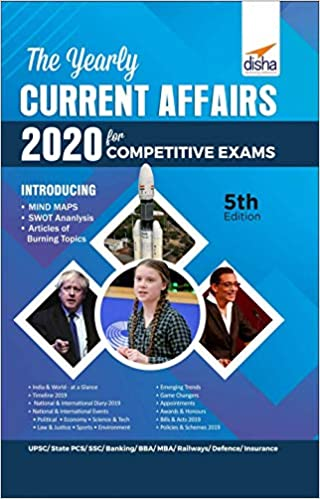 Yearly Current Affairs 2020 for Competitive Exams by Disha Experts