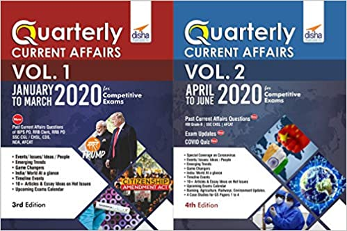 Half-Yearly Current Affairs - January to June 2020 for Competitive Exams by Disha Experts