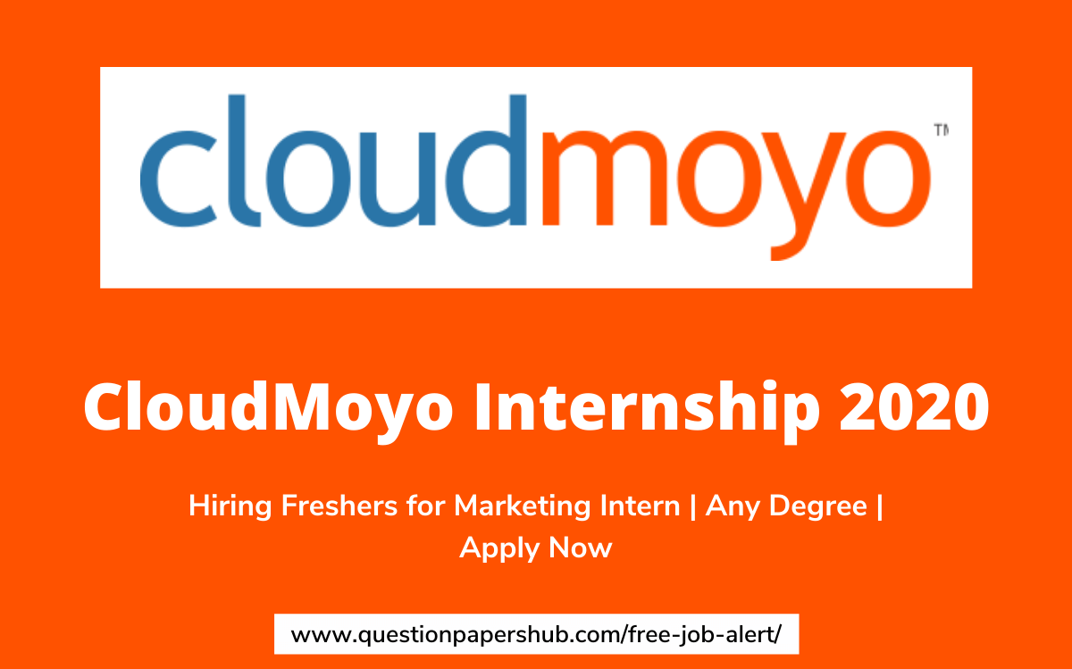 CloudMoyo Internship 2020