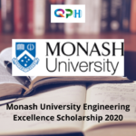 Monash Engineering Scholarship 2020